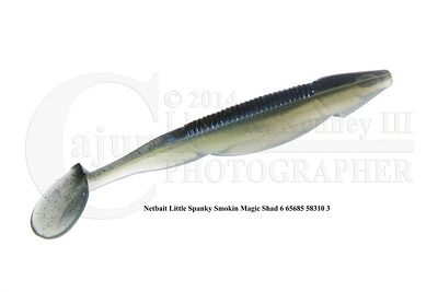 Netbait Little Spanky Smokin Magic Shad 6 65685 58310 3 with info