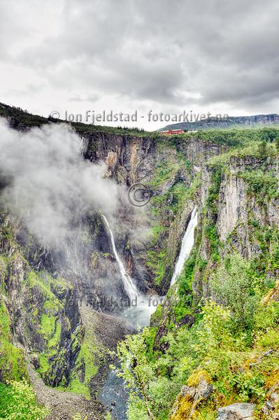 VØRINGSFOSSEN OG FOSSLI - EIDFJORD - HORDALAND