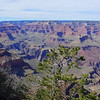 South rim of the Grand Canyon. The north rim opens in May, I've heard it's even more beautiful.
