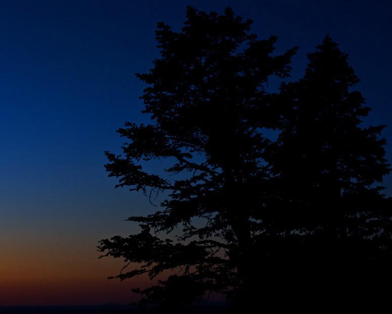 First Light 2- Looking SE from Cedar Crest