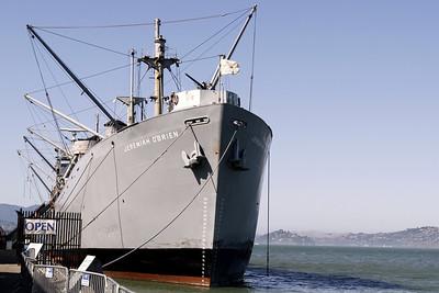 Fleetweek Day 2, S.S. Jeremiah O'Brien and the USS Pampanito