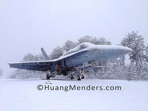 F/A 18 Hornet Jet at Lakehurst Naval Base, Lakehurst, NJ