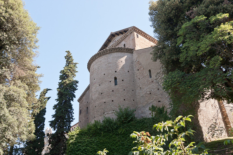 The Villa built by Cardinal Ippolito II d'Este c. 1550