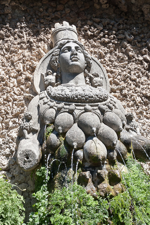 Artemis (principal god of Ephesus) in the garden