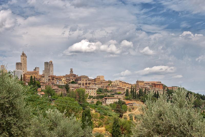 San Gimignano - a Tuscany medieval village