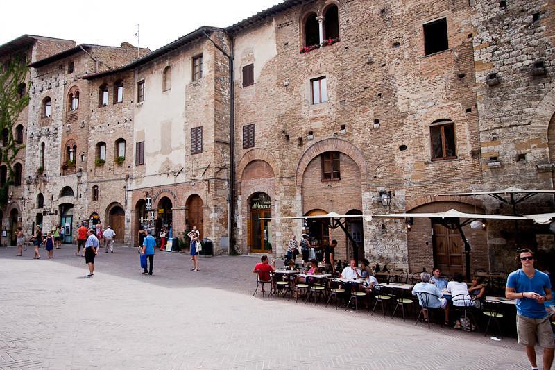 San Gimignano town square