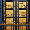 Famous Doors in Florence Italy
