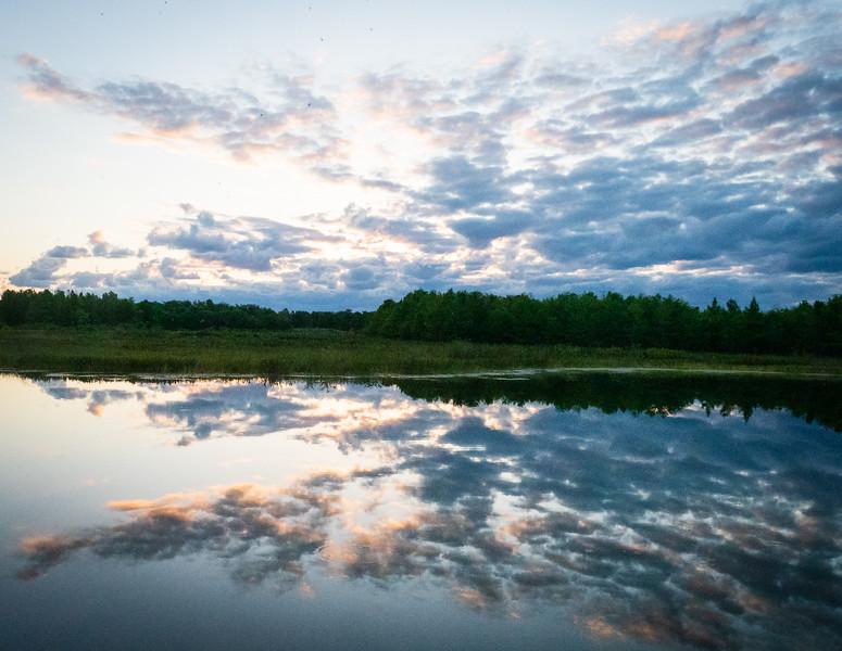 Cloud Reflection at Green Cay