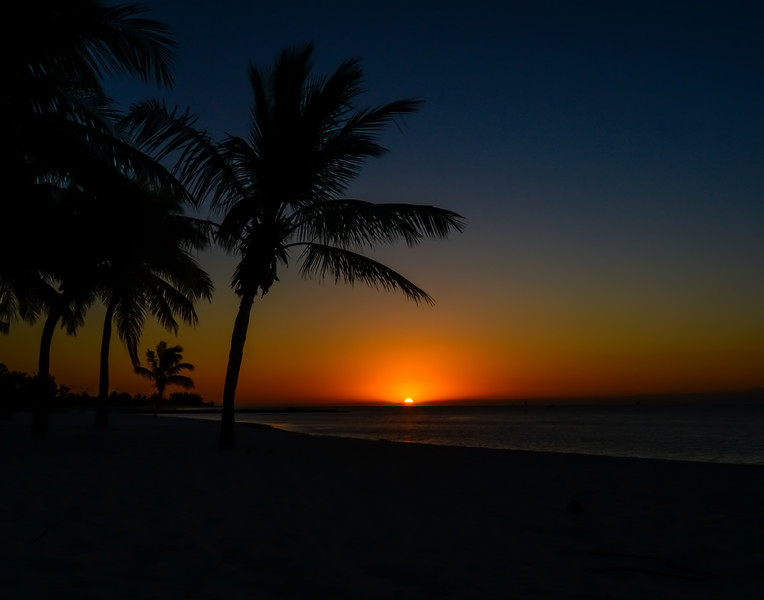 Key West Smathers beach sunrise