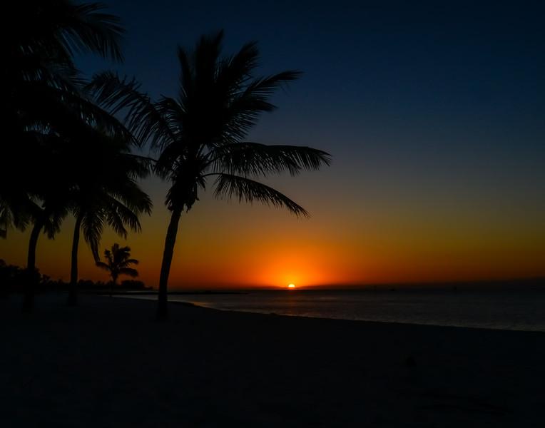 Key West Smathers beach sunrise