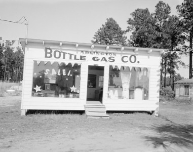 Arlington Bottle Gas Company building in 1960.