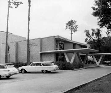 Swisher Auditorium at Jacksonville University in 1964.