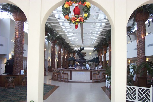 View of lobby from inside Front doors