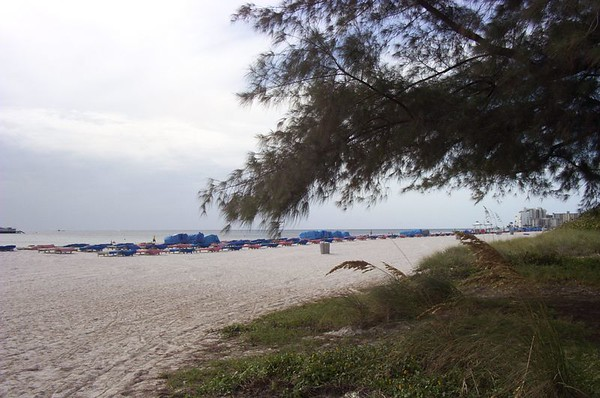 St. Pete Beach. My First look a the Gulf of Mexico.
