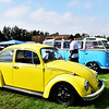 Nice Yellow Volkswagon at the Car Show in Fountain Valley CA