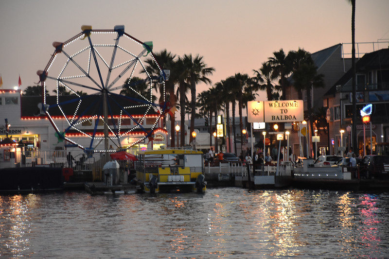 Fun Zone at Balboa Island Near Dusk in Newport Beach California 2