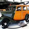 Ford Woody at the Lyons Air Museum in Santa Ana, CA