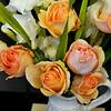 Roses in a Vase in Costa Mesa CA