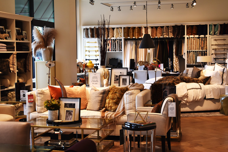 Interior Design Studio in South Coast Plaza in Costa Mesa CA