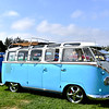 Nice Volkswagon Bus at the Car Show in Fountain Valley CA