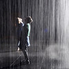 Rain Room at the Los Angeles County Museum of Art in California 3