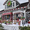Some People Like to Decorate for Christmas on Balboa Island in Newport Beach CA