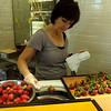 Making Chocolate Covered Strawberries in Costa Mesa California