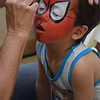 Face Painting at South Coast Plaza in Costa Mesa CA 2