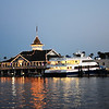 Fun Zone at Balboa Island Near Dusk in Newport Beach California
