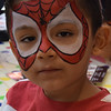 Face Painting at South Coast Plaza in Costa Mesa CA