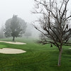 Foggy Morning at Mesa Verde Country Club in Costa Mesa CA