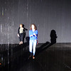 Rain Room at the Los Angeles County Museum of Art in California 1