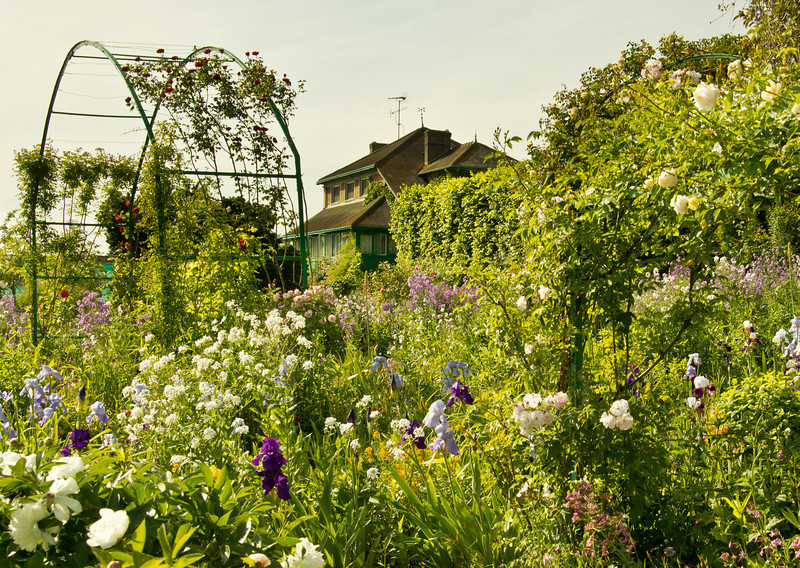 Claude Monet's Home at Giverny