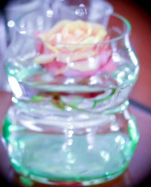 Glass Rose by Karen