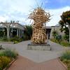 Straw Sculpture at Denver Botanical Gardens