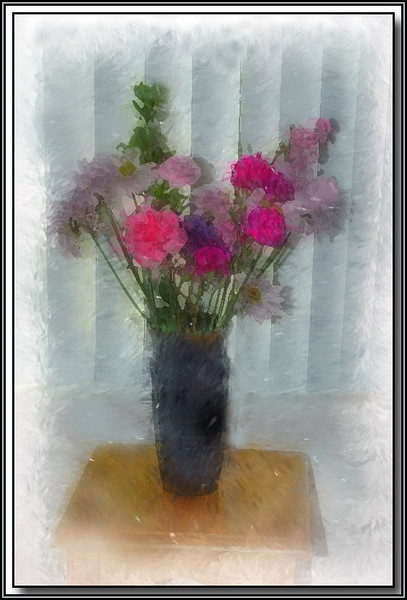 """Photo painted using """"Corel Painter Essentials 4"""" software"""