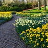 Follow the Reddish Brick Road...<br /> Keukenhof Gardens, The Netherlands