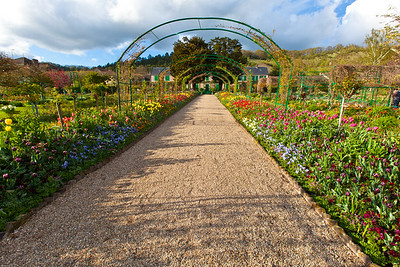 Monet's Garden Path Giverny, France