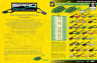 SPRO Frogs