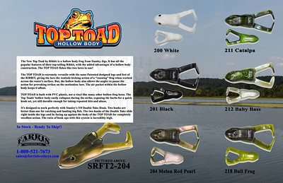 Stanley Top Toad Flyer for Farris Brothers, Inc. Photo Credit Stanley® Layout and background photo credit ©2013 Lloyd Kenney III