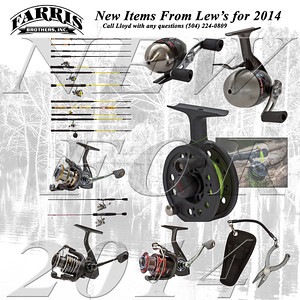 New Lew's Items for 2014