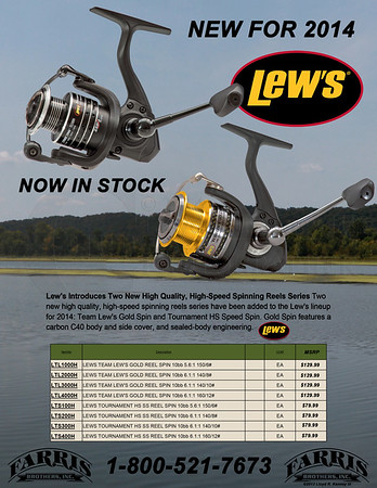 Lew's Spinning Reels
