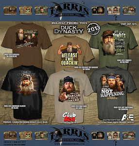 Duck Dynasty Black Friday T-Shirt Sale 2013 - T-Shirts will be in sporting good stores around Nov. 1st, 2013. Contact your local Independent Sporting Goods Retailer for more info.