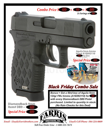 Farris Brothers, Inc. Black Friday Sale Flyer.  Design By Lloyd R. Kenney III ©2013 All Rights Reserved Email: LloydKenneyiii@gmail.com Saturday November 16, 2013