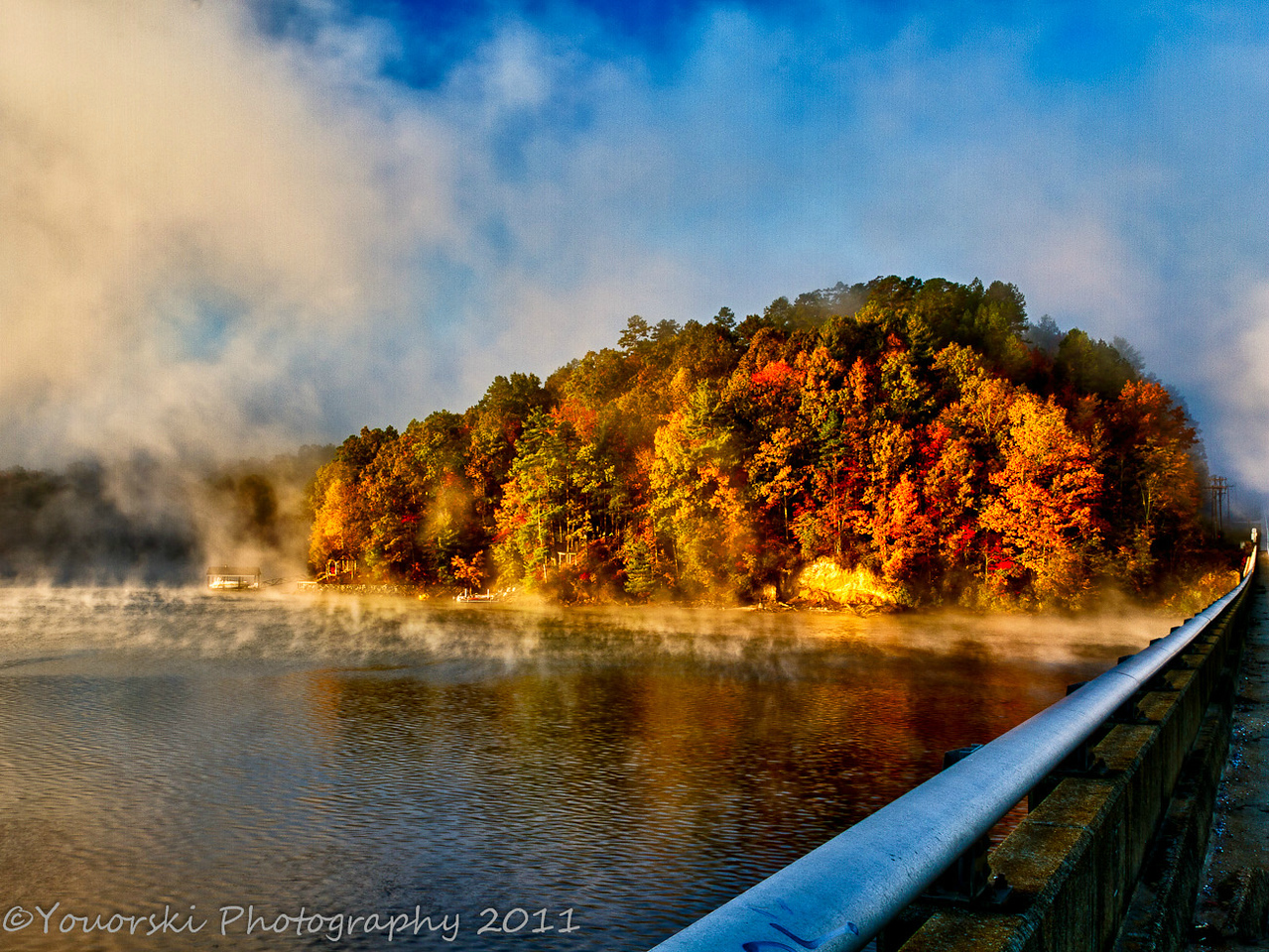 Keowee River Hwy 11 Fall 2011