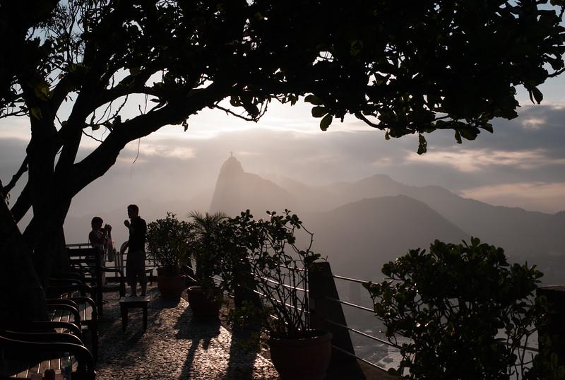 Rio de Janeiro - Brasilien mit Max 7.-11.3.2008 (CHIESI-Meeting) Christusfigur Rio