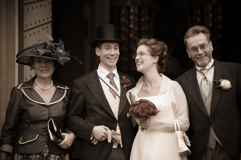 Hochzeit Caroline & Christian Paderborn Dezember 2006