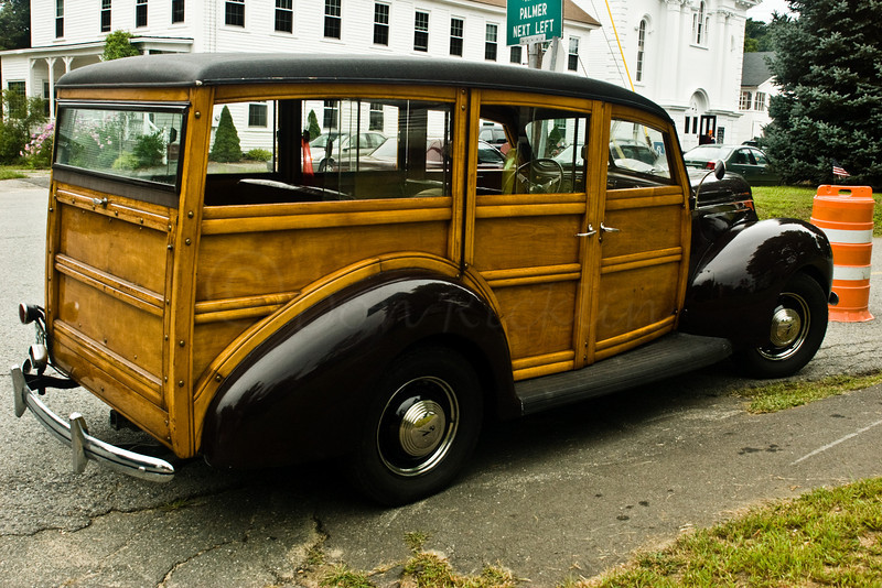 Old Woody Station Wagon