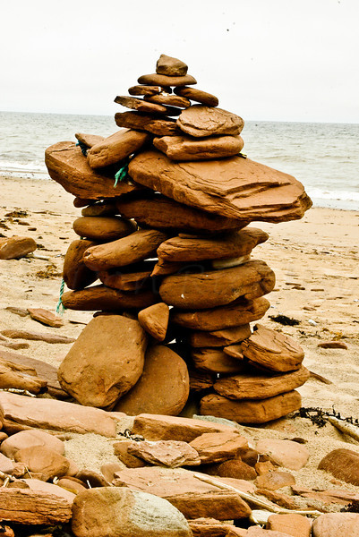 Beach Cairn