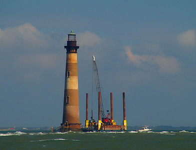 Save the light// Morris Island lighthouse project